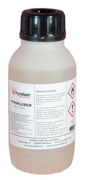 Pyrokleber, 500 ml.