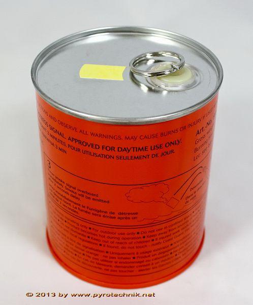 Rauchkörper CF3, orange, 3 Min., Reisszündung