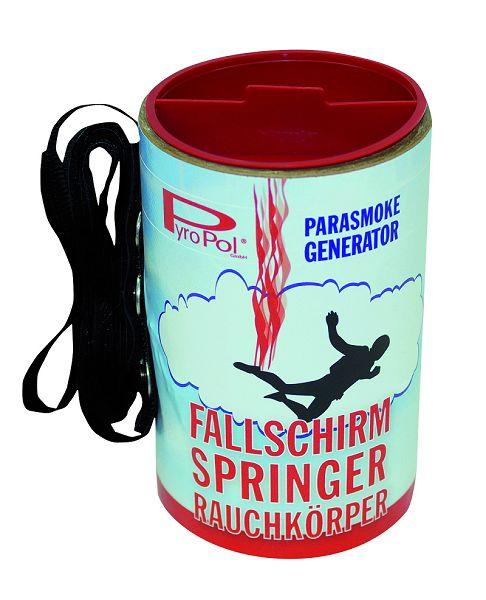 Fallschirmspringer Rauchkörper, rot