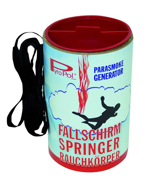 Fallschirmspringer Rauchkörper, blau