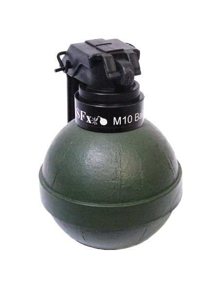 Ball Grenade M10, Kipphebelzündung, Erbsen