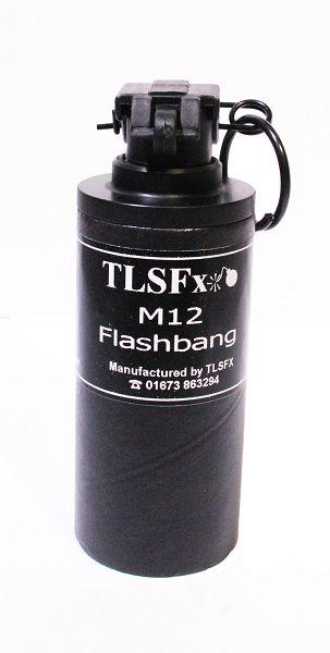 FlashBang Device M12, Kipphebelzündung