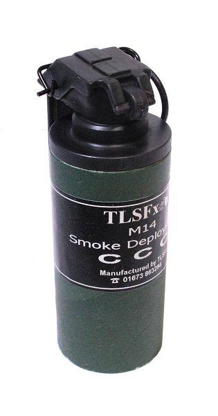 Smoke Deployment Device M14, Kipphebelzündung