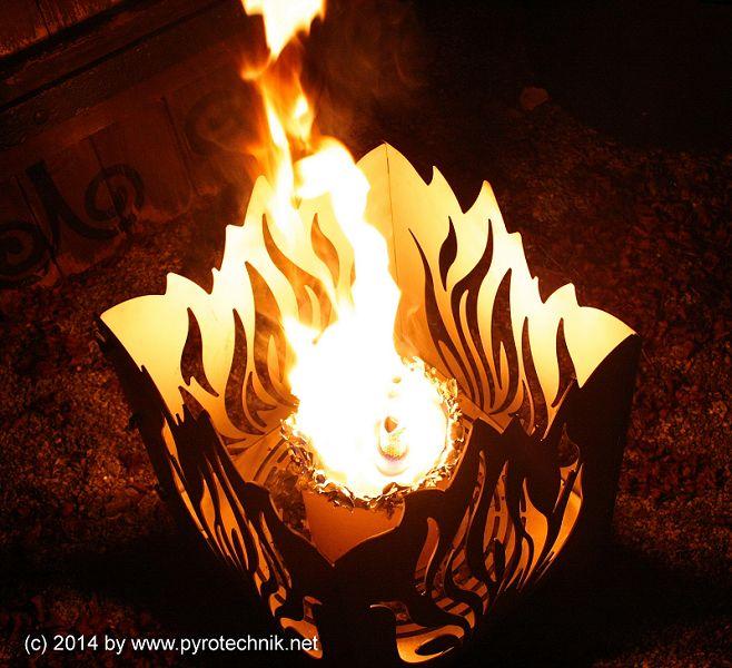 Feuerkorb-Licht, 6 Stunden