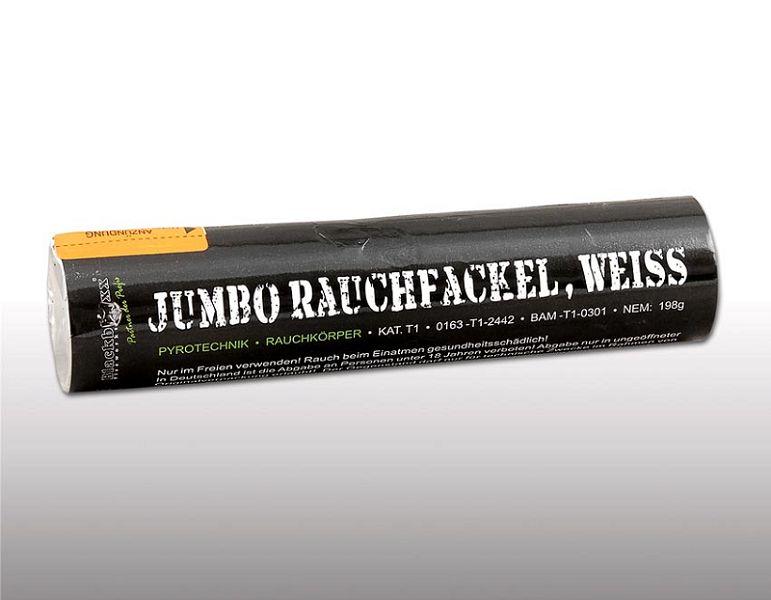 Jumbo Rauchfackel, Weiß