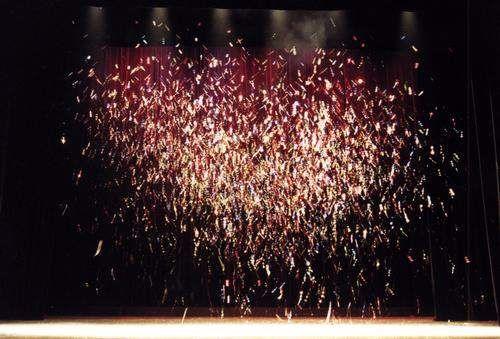 LEM Glitterwerfer, Rot