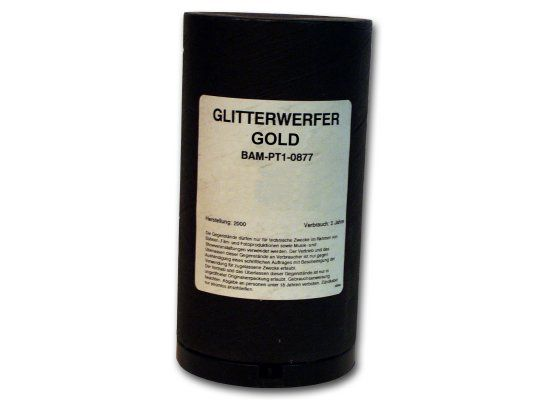 LEM Glitterwerfer, Gold (Drahtanschluss)