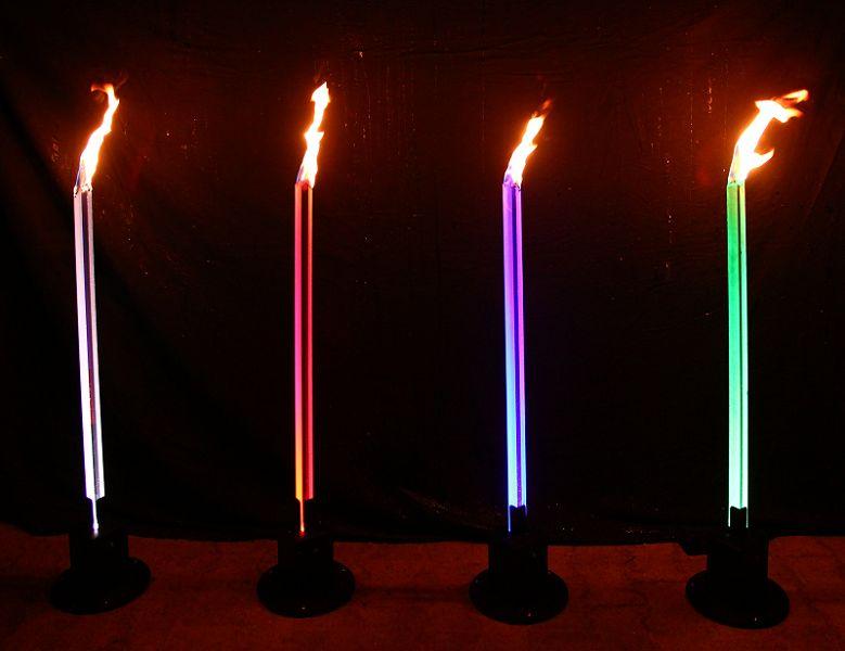 Base für LED-Acrylfackeln V2 OHNE Lightcan