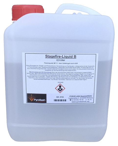 Stagefire-Liquid B, 2,5 Liter (raucharm)