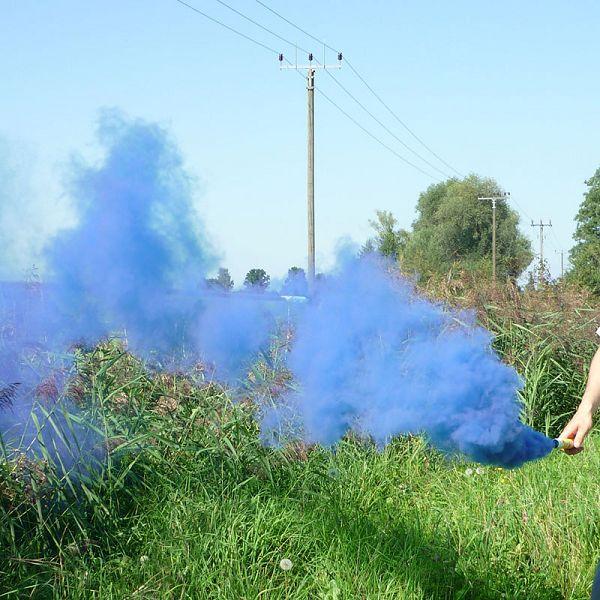 Mr. Smoke 1, blau