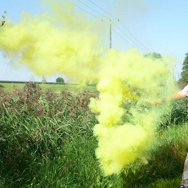 Mr. Smoke 1, gelb