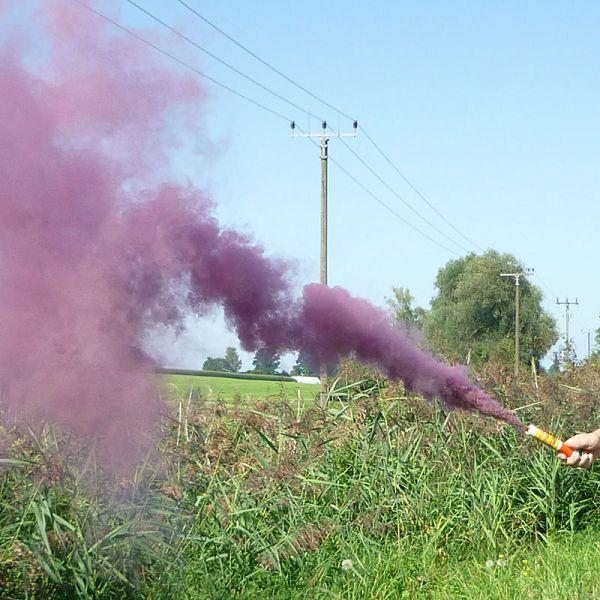 Mr. Smoke 1, granatrot