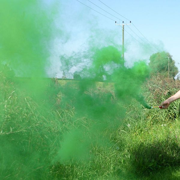 Mr. Smoke 1, grün