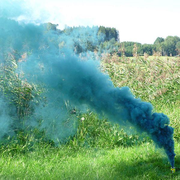 Mr. Smoke 2, azurblau