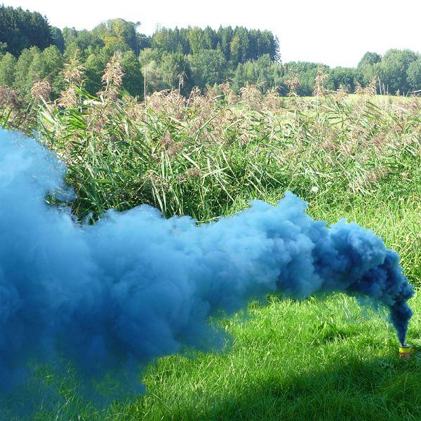 Mr. Smoke 2, blau