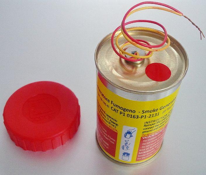 Mr. Smoke 3, rot (Elektrozündung)