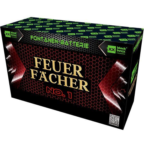 Feuer-Fächer No.1, 2,5 m, 45 s
