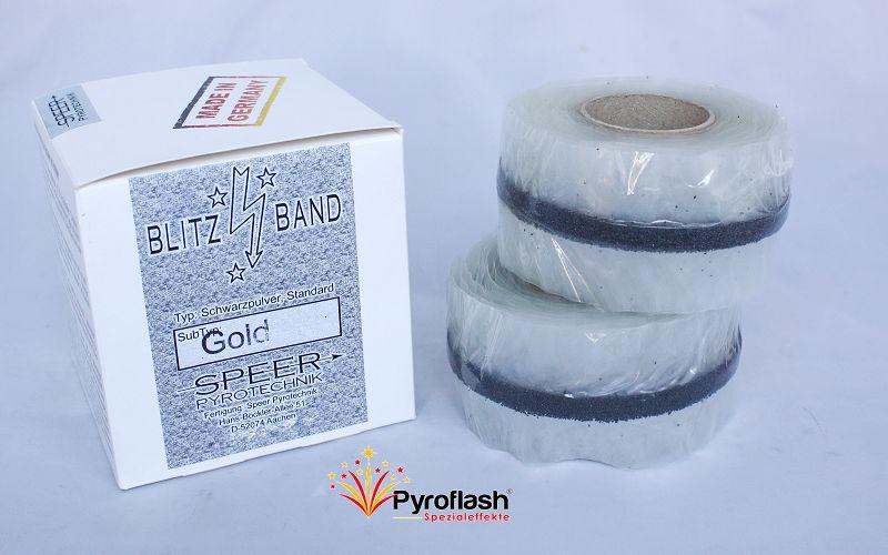 Blitzband, gold, wasserfest, 2x 10 m (Tape-Match)