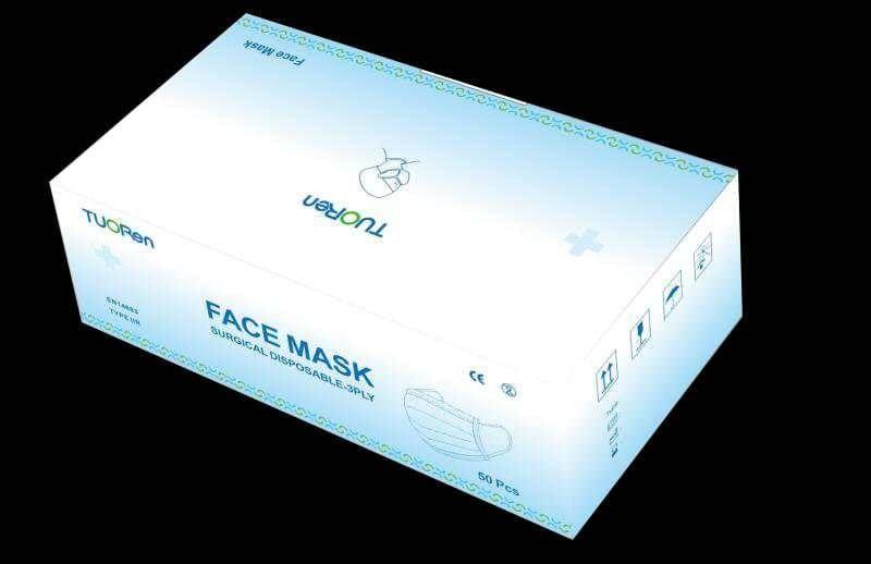 Mund-Nasen-Schutz Typ IIR (50er Box)