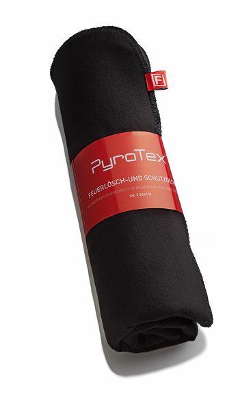 Feuerlöschdecke PyroTex, schwarz, 1,6 x 2 m