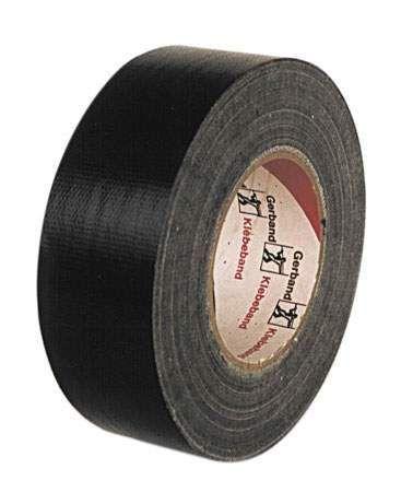 Gaffer-Gewebeband, schwarz
