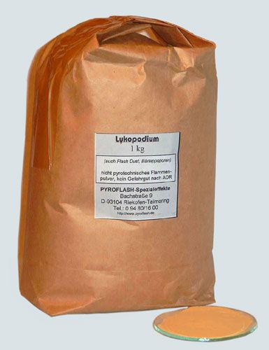 Lykopodium (Flash Dust), 5 kg
