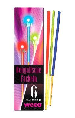 Beng. Fackeln, 6er FS, Kl. I
