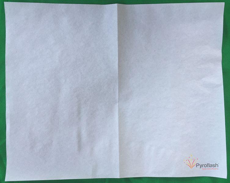 Pyropapier, weiß 21 x 24 cm, 10 Bögen