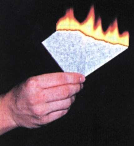 Pyropapier, weiß, dick, 20 x 25 cm, 10 Bögen