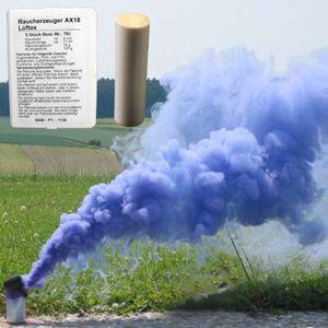Rauchpatronen AX-18, blau, 5 St., 4 Min.