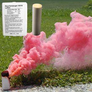 Rauchpatronen AX-18, rot, 5 St., 4 Min.