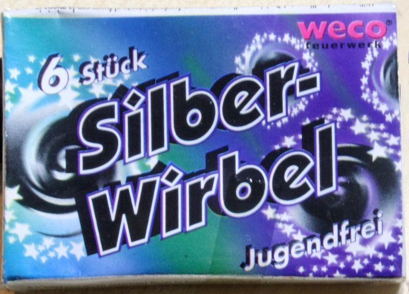 Silberwirbel, 6er Schachtel (AL)
