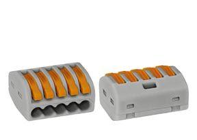 Steckklemme 0,08 - 2,5 mm² für flexible und starre