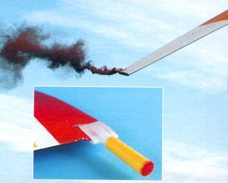 Tragflächenhalterungen für Rauchkörper AX 18+60