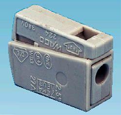 WAGO-Schnellanschlußklemme 0,5 - 2,5 mm²
