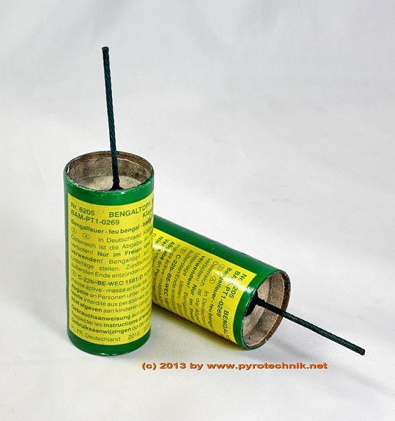 Bengaltopf, grün, 1 Minute, 10 St. Kl. T1