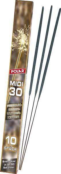 Wunderkerzen Midi 30, 10er