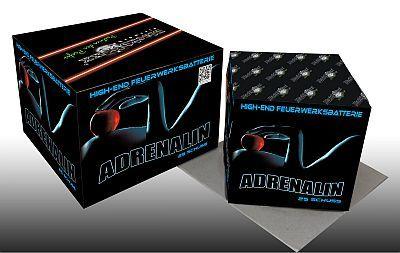Adrenalin, 20 Schuss Batterie