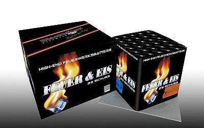 Feuer & Eis, 25 Schuss Batterie
