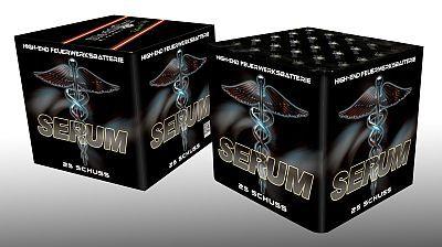 Serum, 25 Schuss Batterie