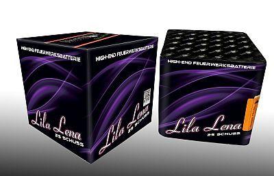 Lila Lena, 25 Schuss Batterie