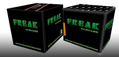 Freak, 44 Schuss Multi-Effekt-Batterie