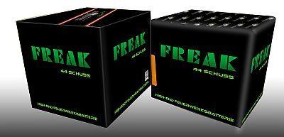 Freak, 44 Schuss Multi-Effekt-Batterie