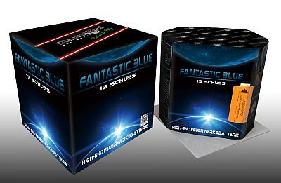 Fantastic Blue, 13 Schuss Batterie