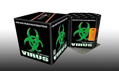 Virus, 13 Schuss Batterie