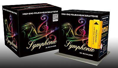 Symphonie, 15 Schuss Batterie