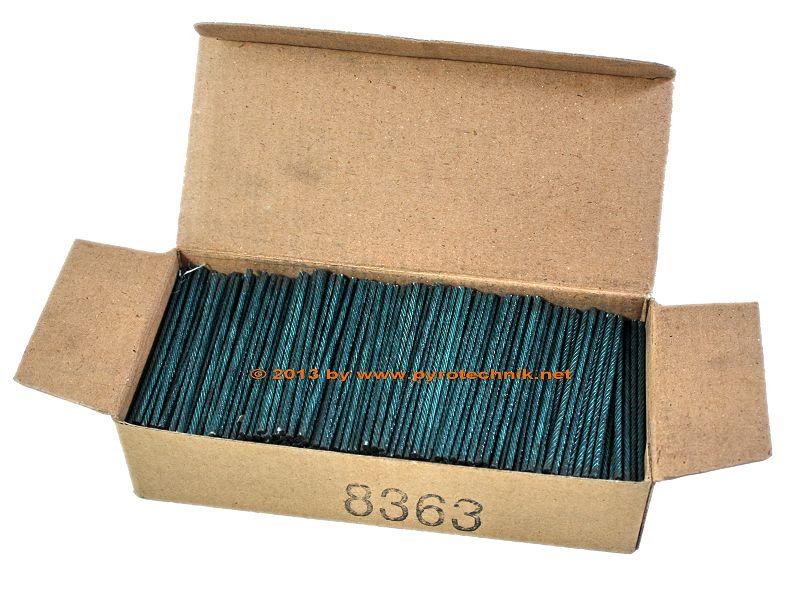 Visco-Zündschnüre, 1.000 Stück Packung