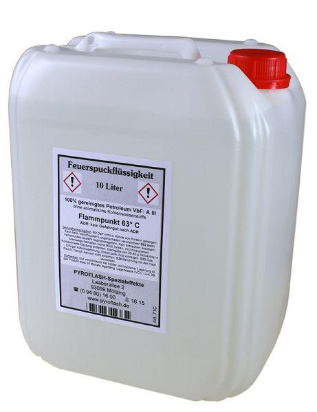 Feuerspuckflüssigkeit, 10 Liter