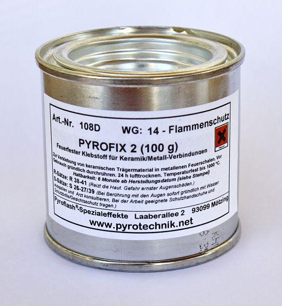 Feuerfester Kleber PYROFIX 2, 100 g