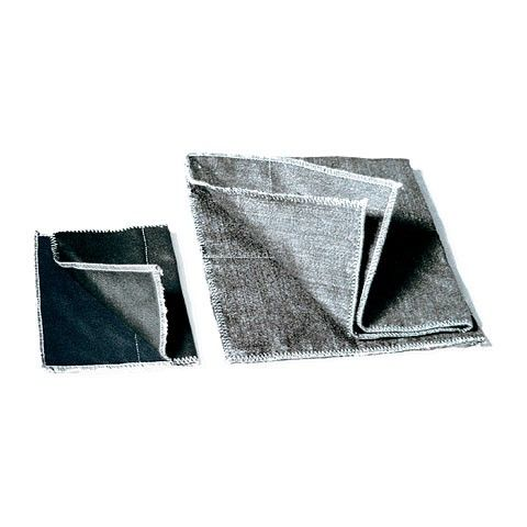 Hitzeschutzdecke, schwarz, 800 °C, 1x1 m